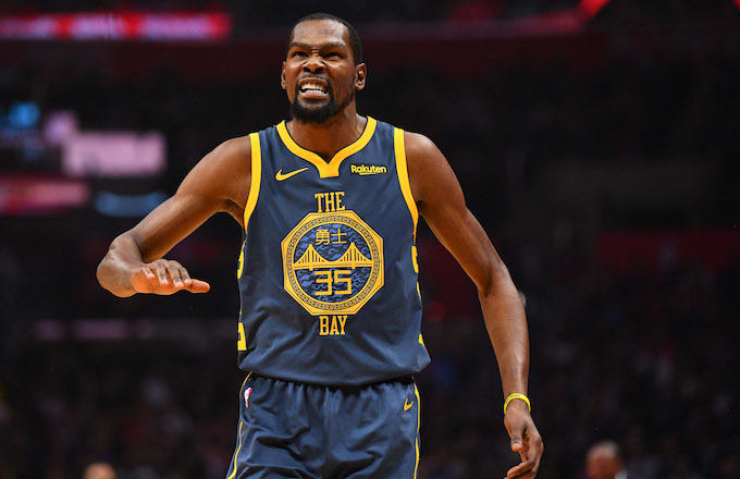 Word Is Durant Is Out Teammates Aren T Mad Love Peace